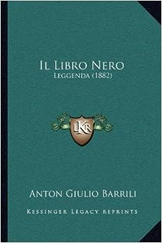 Book Il Libro Nero: Leggenda (1882)