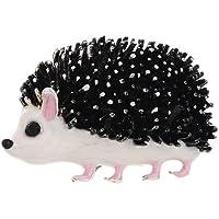 JOYID Cute Hedgehog Brooch Emanel Animal Pin Brooch Accessories Jewelry Gift