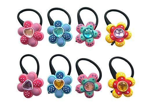 AVIRGO Bag Tag Identify your Luggage Set 10 (8 diamond flower #5) ()
