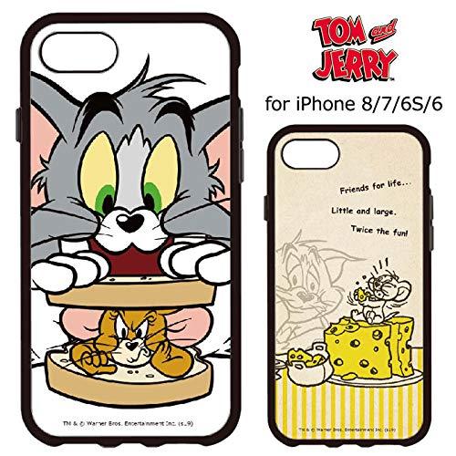 またねパッド機関車【カラー:サンドイッチ】iPhone8 iPhone7 iPhone6S iPhone6 トムアンドジェリー イーフィット ケース ソフトケース ソフト ハード キャラクター シリコン かわいい シンプル トム&ジェリー アイフォン8 iphone 8 7 6s 6 iPhone8ケース スマホカバー スマホケース s-gd_7a832