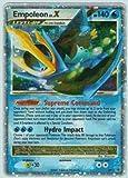 Pokemon Diamond & Pearl 2007 Empoleon Lv. X Promo Card DP11 [Toy]
