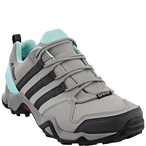 Adidas Udendørs Kvinders Ax2 Gore-tex Vandring Sko Ch Solid Grå, Dgh Fast Grå, Klar Turkis