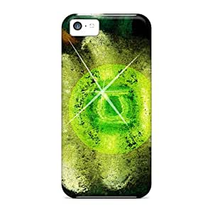 LJF phone case Durable Defender Case For iphone 4/4s Tpu Cover(green Lantern)