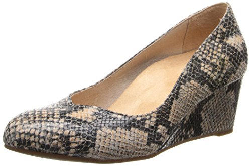 Women's Vionic with Orthaheel 'Antonia' Pump Natural Snake 9
