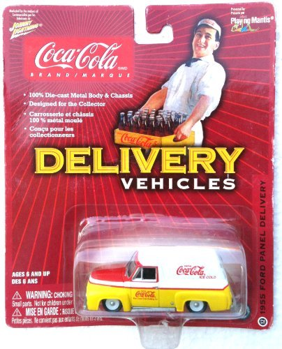 (COCA-COLA 1955 Ford Panel Coke Delivery Truck LIMITED EDITION 100% DIE-CAST)