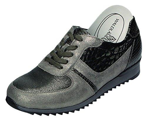H peltro Hurly Zapato Cuero Mujer Weite de Oxford Waldläufer H8OqYv