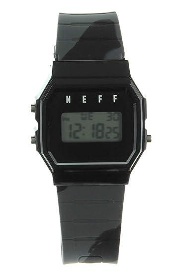 NEFF Reloj de hombre Flava XL NF0249 diseño digital reloj, talla única (negro/
