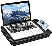 LapGear Mesa de colo SIDEKICK - Preta - Serve para laptops de até 15,6 polegadas - Estilo Nº 44218