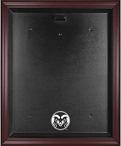 Colorado State Rams Mahogany Framed Jersey Display Case - Fanatics Authentic Certified - College Jersey Logo Display Cases by Sports Memorabilia