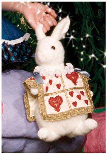 [Leg Avenue Rabbit Purse Costume Accessory, White/Gold, One Size] (Bag Lady Halloween Costume)