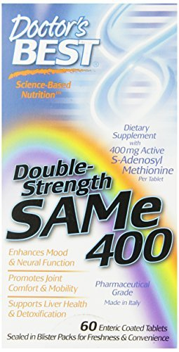 Doctor's Best SAM-e 400, 60-Count (Pack of 3) by Doctors Best'S
