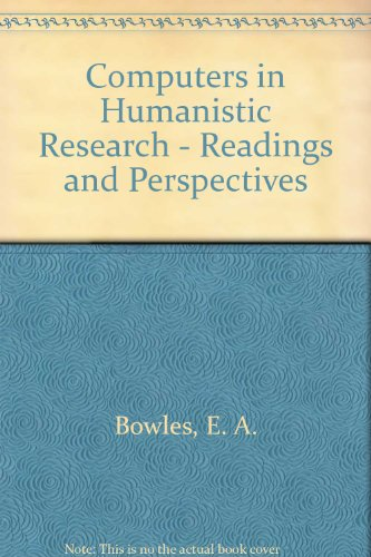 Computers in humanistic research: readings and perspectives (Prentice-Hall series in automatic computation)