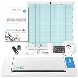 Silhouette America Silhouette Cameo Digital Craft Cutter with Silhouette Studio Designer Edition Software