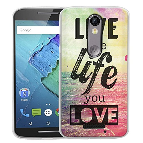 Droid Turbo 2 Case, Harryshell Slim Scratch-Resistant Tpu Gel Flexible Silicone Soft Case Cover Skin Protective for Motorola Droid Turbo 2