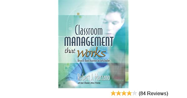Classroom Management That Works Research Based