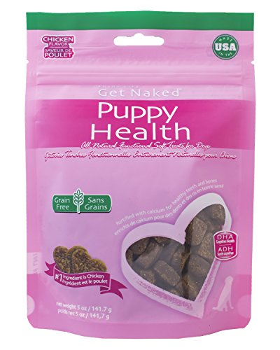 Get Naked 1 Pouch Puppy Health Soft Dog Treats, 5 Oz