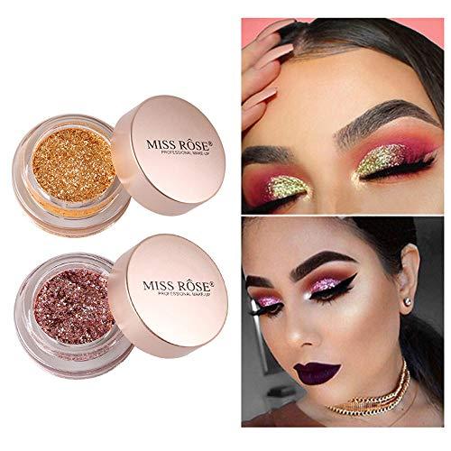 Lowpricenice DaySeventh Shimmer Glitter Eye Shadow Powder Palette Matte Eyeshadow Cosmetic Makeup ()
