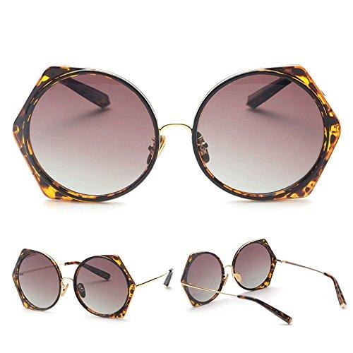 Poligonales Summer Hombres 4 Sunglasses Gafas De Cool De Gafas Frame Sol WANGKEAI De 3 Blue Moda Redondas Sol Metla 7gw6Faq