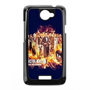 Doctor Who 50th Anniversary HTC One X Cell Phone Case BlackL1082506
