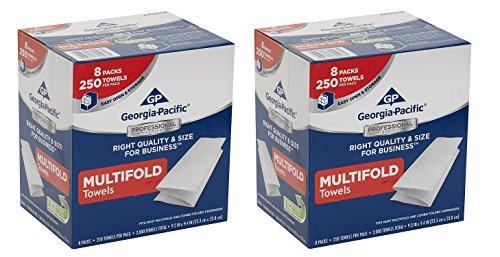 [해외]그루지야 - 태평양 2212014 다단 종이 타월/Georgia-Pacific 2212014 Multifold Paper Towels