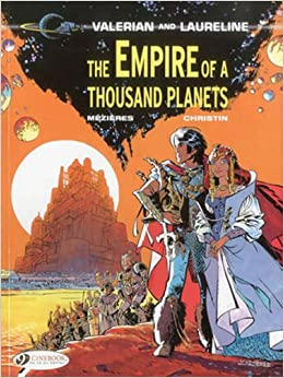 Amazon.com: The Empire of a Thousand Planets (Valerian