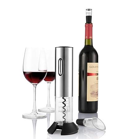 migliori offerte su qualità superiore enorme inventario WUDAYI Elettrico Vino Bottiglia Opener Kit Corkscrew Elettrico ...