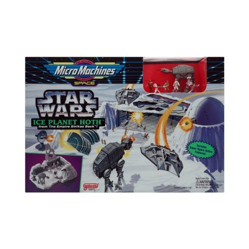 (Star Wars Micro Machines Empire Strikes Back ICE PLANET HOTH)