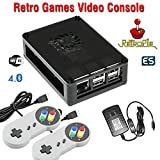 Raspberry Pi 3 based retro games emulation console, 16GB edition, 2x snes type controller, Retropie Review