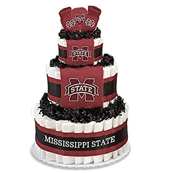 Amazon.com : Collegiate Diaper Cakes - Baby Gifts for the Sports Fan ...
