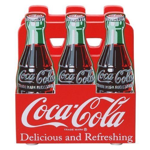 Coca -Cola napkin holder 6 bottle pack