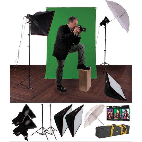 Impact EX100 Ultimate Creative Portrait Kit (120VAC)