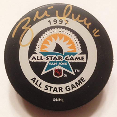 - Brett Hull St. Louis Blues Autographed / Signed 1997 All-Star Game Hockey Puck COA (Official Game Puck)