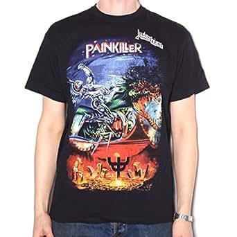 Amazon.com: Old Skool Hooligans Judas Priest T Shirt ...
