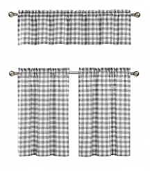 GoodGram 3 Pc. Plaid Country Chic Cotton...