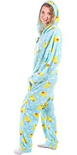 Amazon.com  Forever Lazy Non-Footed Adult Onesies  31018089af08