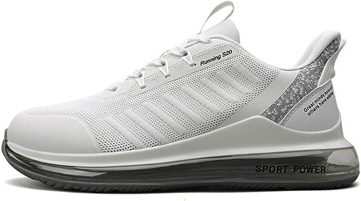 Air Zapatillas Running Hombre Mujer Tenis de Deportivas Casual para Correr Gimnasio Bambas 34-44EU: Amazon.es: Zapatos y complementos