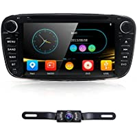 7 Full Touch-screen Ford Focus Car DVD CD player GPS 2 Din Stereo GPS Navigation ipod 3G free camera,canbus Color Black