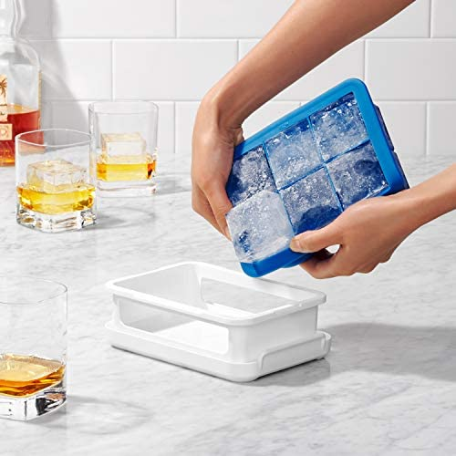 [Gesponsert]OXO Good Grips Silikon Eiswürfelform für extra große Eiswürfel