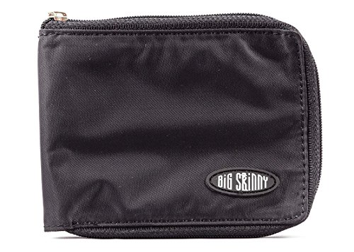 Big Skinny Zippered Bi Fold Wallet product image