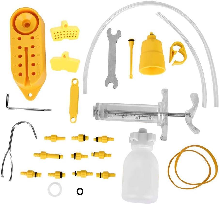 Kit de Frenos de Disco Hidráulico de Bicicleta Profesional Herramientas de Engrase de Freno de Disco de Aceite Mineral de Bicicleta