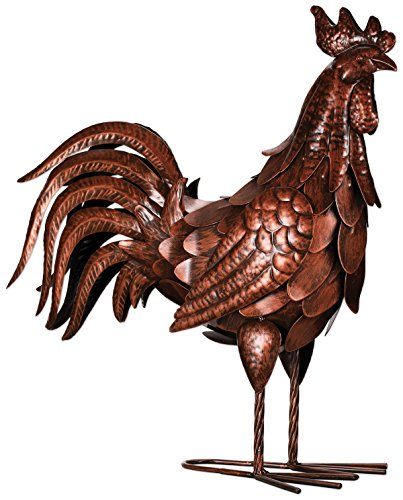 Sunset Vista Designs Sculpture Bronze Rooster