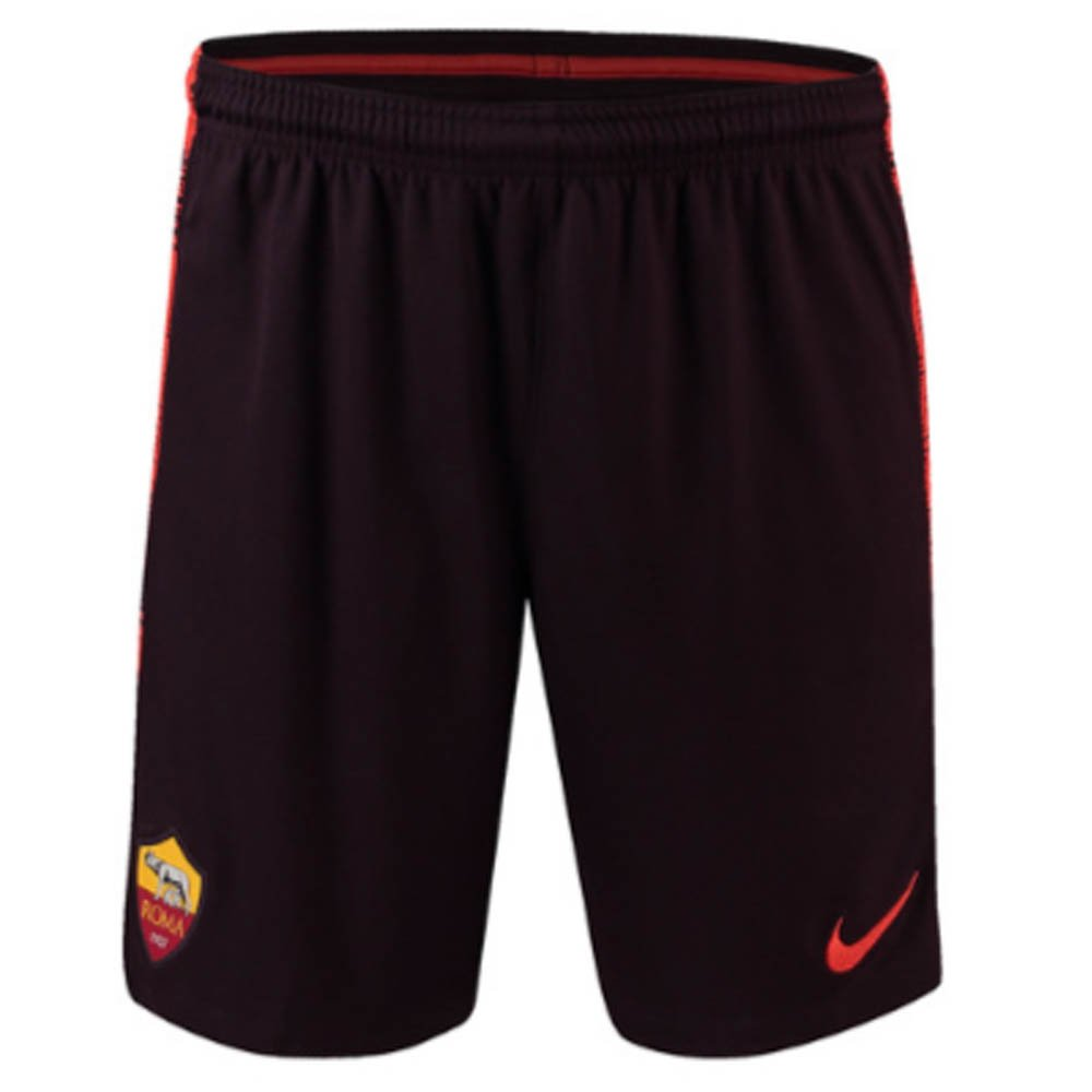 2018-2019 AS Roma Nike Squad Training Shorts (Burgundy) B07D8GPZ9GBurgundy L 34-36\