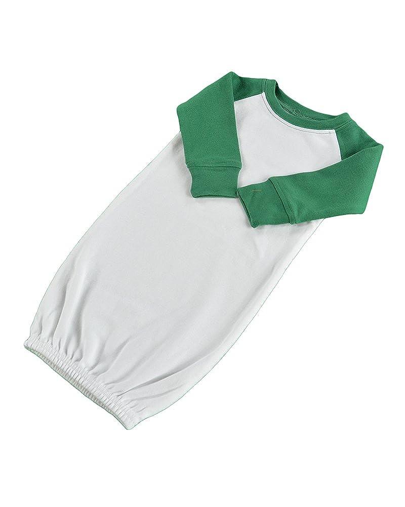 Amazon.com: Monag Long Sleeve Raglan Baby Gown: Clothing