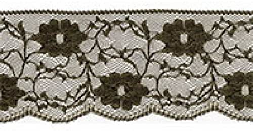 per metre Essential Trimmings Frilled Delicate Nylon Lace Trimming ET357-M...