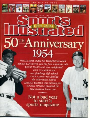 - Sports Illustrated July 14, 2003 Willie Mays, Mickey Mantle, 50th Anniversary Issue, Hideki Matsui/New York Yankees, Tiger Woods, Serena Williams, Roger Federer