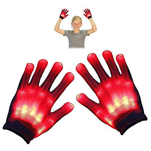 TOP Gift LED Flashing Gloves Novelty Toys - Best Gifts