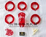 Hetam 5 Size Penis Ring Male Chastity Lock/Belt,Cock Cage,Men's Virginity Lock,Cock Ring,Chastity Device,Adult Game