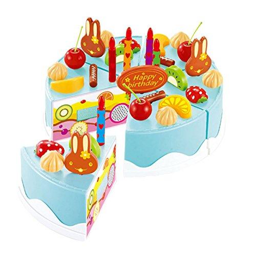 Anastoy Jouet Jeu d'imitation   Cuisine Gâteau d'anniversaire Jouet Anastoy Éducatif 75 pcs 36d4d2