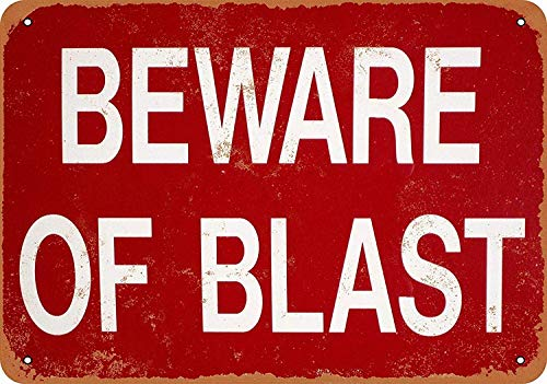 爆発に注意してください 金属板ブリキ看板注意サイン情報サイン金属安全サイン警告サイン表示パネル