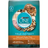 Purina ONE True Instinct Grain Free Natural Dry Cat Food; Chicken Formula - 6.53 kg Bag
